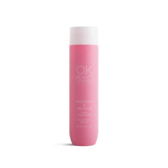OK BEAUTY MOISTURIZE & VOLUMIZE Acondicionador para hidratar y dar volumen al cabello